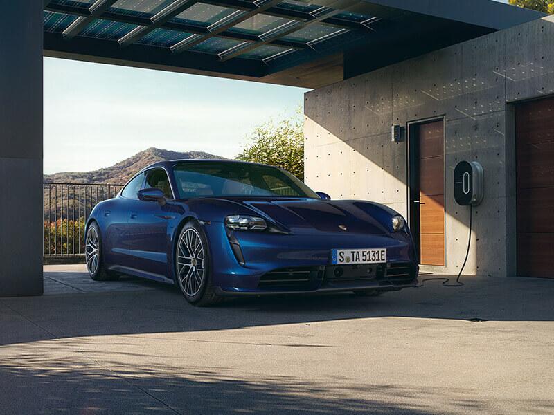 Porsche - Charging at home.